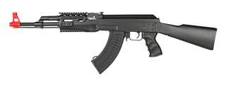 LT-16A TACTICAL AK-47 AEG METAL GEAR w/FULL STOCK (COLOR: BLACK)