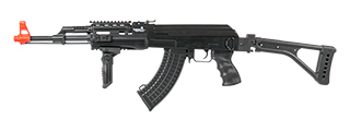 LT-16F TACTICAL AK-47 AEG METAL GEAR w/SIDE FOLDING STOCK (COLOR: BLACK)