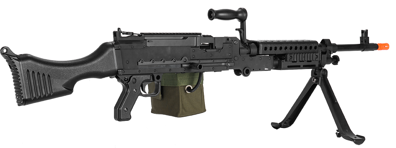 LT-240 M240 AUTOMATIC AEG (COLOR: BLACK)
