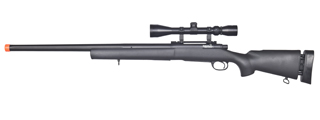 LT-28A M24 BOLT ACTION RIFLE w/ SCOPE (COLOR: BLACK)