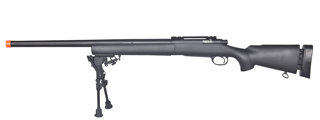 LT-28BIP M24 BOLT ACTION RIFLE W/ BI-POD (COLOR: BLACK)