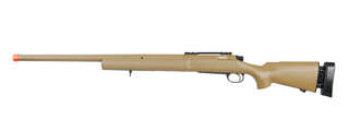 LT-28T M24 BOLT ACTION RIFLE w/FLUTED BARREL (COLOR: DARK EARTH)