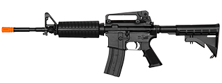 LT-81B M4A1 GAS CARBINE RIFLE (BK)