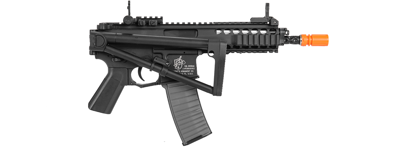 LT-PDWM KNIGHTS ARMAMENT COMPANY PDW FULL METAL AEG (BK)
