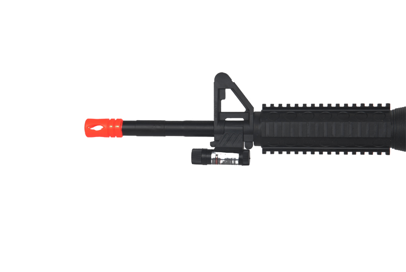 UKARMS M-16A Spring Rifle w/ 2 Magazines and 2 Stocks