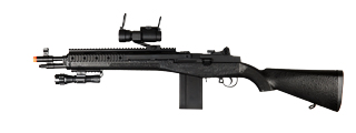 UKARMS M160C2 Spring Rifle w/ Flashlight & Scope