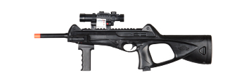 Airsoft M182 M182B Spring Rifle w/Laser & Flashlight