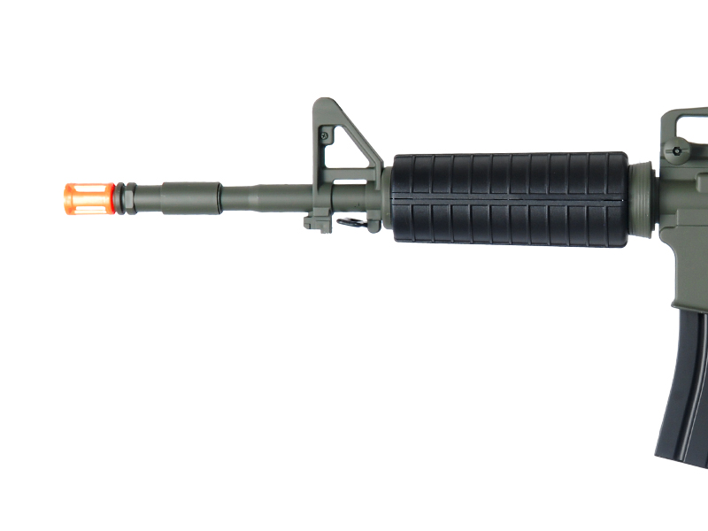 M3081B AEG Plastic Gear M4 Adjustable LE stock and Removable Carrying Handle