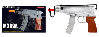 UKARMS M309S Scorpion Spring Pistol in Silver