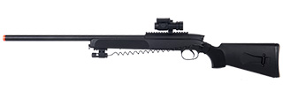 Double Eagle M50P Bolt Action Rifle w/ Red Dot Scope and Pressure Switch Laser