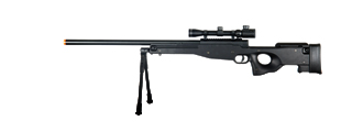 DOUBLE EAGLE FULL METAL L96 BOLT ACTION SNIPER RIFLE W/ SCOPE & BIPOD
