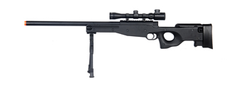 Double Eagle M59P Bolt Action Rifle, Scope and Bipod Included