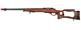 M70W BOLT ACTION RIFLE w/FLUTED BARREL (COLOR: WOOD)