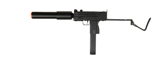 Double Eagle M807 Submachine AEG w/ Barrel Extension, Black