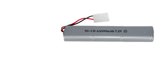 M83A2 BATTERY NI-CD AA500mAh 7.2v