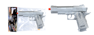 UKARMS M996S Spring Pistol in Poly Bag - Silver