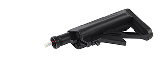 ICS MA-133 STOCK W/EASY BATTERY COMPARTMENT - BLACK