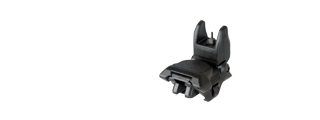 ICS CXP SERIES M4 / M16 AIRSOFT FLIP-UP FRONT IRON SIGHT - BLACK