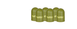 ICS MA-166 Grenade Caps, Set of 6
