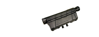 ICS M4 / M16 AEG AIRSOFT PEQ BATTERY BOX MOCK LASER UNIT - BLACK