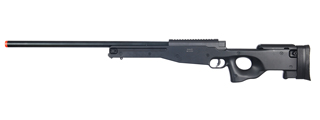 UK ARMS AIRSOFT L96 AWP BOLT ACTION RIFLE - BLACK
