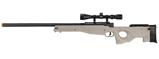 WELL MB01TA L96 AWP BOLT ACTION RIFLE w/SCOPE (COLOR: TAN)