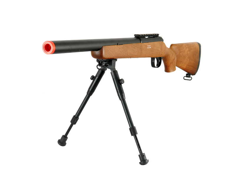 WELL MB02WBIP VSR-10 BOLT ACTION RIFLE w/BIPOD (COLOR: WOOD)