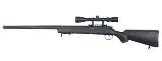 WELL MB03BA VSR-10 BOLT ACTION RIFLE w/SCOPE (COLOR: BLACK)