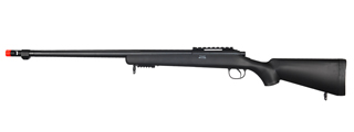 WELL MB07B VSR-10 BOLT ACTION RIFLE w/FLUTED BARREL (COLOR: BLACK)