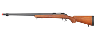 WELL AIRSOFT VSR-10 BOLT ACTION RIFLE W/ FIXED STOCK - WOOD