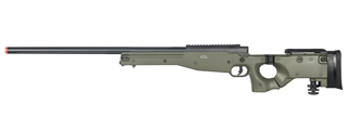 WELL MB08G L96 AWP BOLT ACTION RIFLE w/FOLDING STOCK (COLOR: OD GREEN)