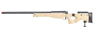 WELL MB08T L96 AWP BOLT ACTION RIFLE w/FOLDING STOCK (COLOR: TAN)