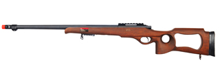 WELL MB09W BOLT ACTION RIFLE w/FLUTED BARREL (COLOR: WOOD)