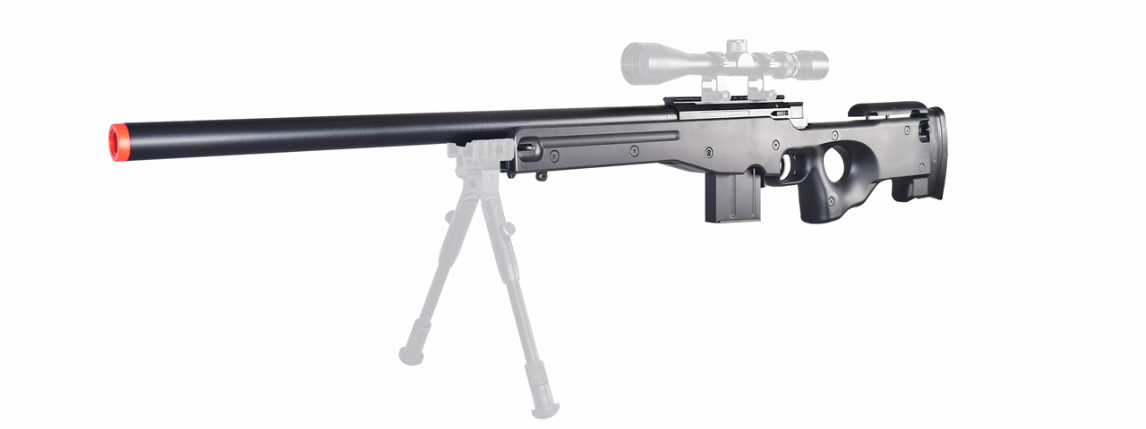 WELL MB4401B L96 AWS BOLT ACTION RIFLE (COLOR: BLACK)