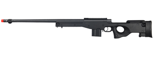 WELL MB4402B L96 AWP BOLT ACTION RIFLE w/FLUTED BARREL (COLOR: BLACK)