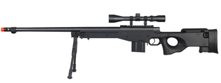 WELLFIRE SHADOWOPS MK96 AWP BOLT ACTION AIRSOFT SNIPER RIFLE - BLACK