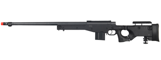 WELL MB4403B L96 AWP BOLT ACTION RIFLE w/FLUTED BARREL (COLOR: BLACK)