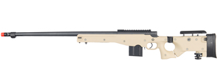 WELL MB4403T L96 AWP BOLT ACTION RIFLE w/FLUTED BARREL (COLOR: TAN)