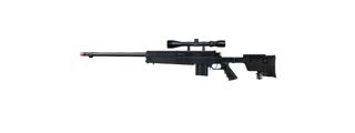 Well MB4407B Bolt Action Rifle, w/ Scope, Black