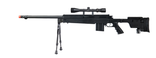 Well MB4407BAB Bolt Action Rifle w/ Scope and Bipod