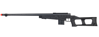 WELLFIRE AIRSOFT L96 BOLT ACTION SNIPER RIFLE - BLACK