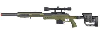WELL MB4410GA BOLT ACTION RIFLE w/SCOPE (COLOR: OD GREEN)