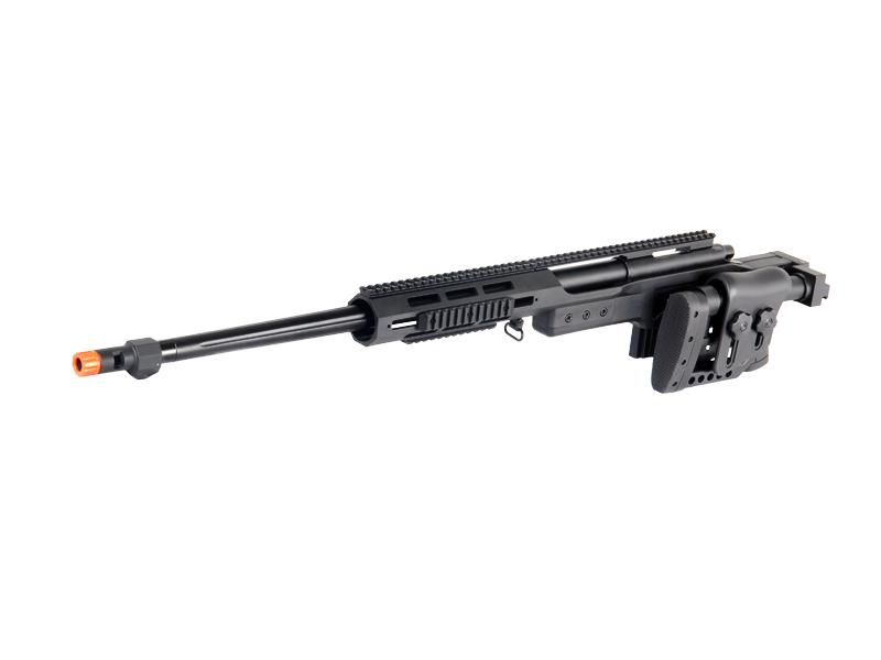 WELL MB4411B BOLT ACTION RIFLE w/FLUTED BARREL (COLOR: BLACK)