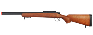 WELL AIRSOFT MBG24W GAS POWERED BOLT ACTION RIFLE W/ ADJUSTABLE STOCK