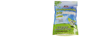 ICS MC-174 0.2g BB 3500/bag, BIO-DEGRADABLE-WHITE
