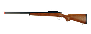 AGM MP001A BOLT ACTION SNIPER RIFLE (COLOR: WOOD)
