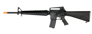 AGM MP033 M16A4 Vietnam Style AEG Metal Gear, Full Metal Body, Fixed Stock