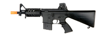 AGM MP035 M4 CQB RIS Stubby AEG Metal Gear, Full Metal Body, Fixed Stock