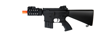 AGM MP036 M4 CQB RIS Stubby AEG Metal Gear, Full Metal Body, Fixed Stock