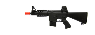AGM MP037 M4 CQB RIS Stubby AEG Metal Gear, Full Metal Body, Fixed Stock